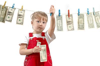 کدام بچه ها تمایل بیشتری به پولدارشدن دارند